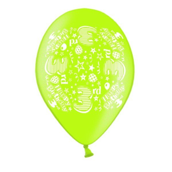 Simon Elvin 10 Inch Latex Balloon - Age 3