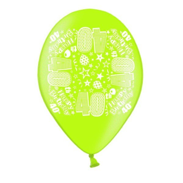 Simon Elvin 10 Inch Latex Balloon - Age 40