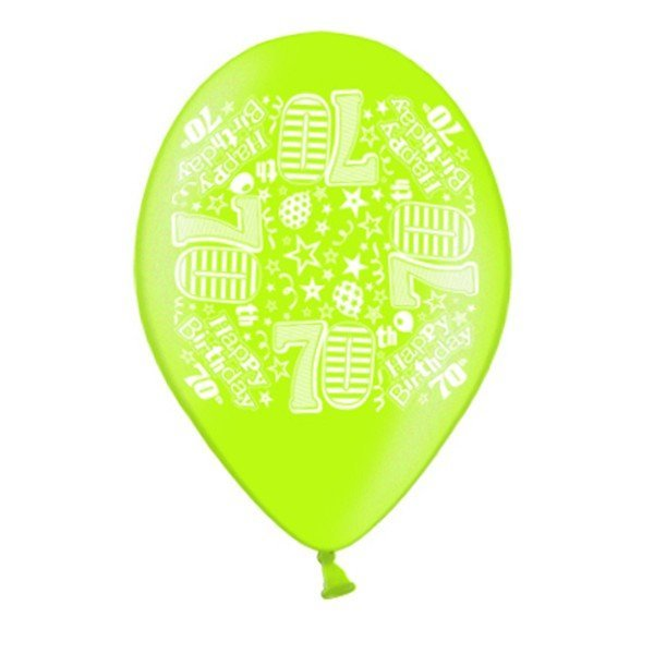 Simon Elvin 10 Inch Latex Balloon - Age 70