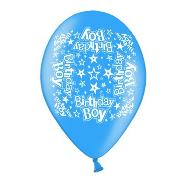 Simon Elvin 10 Inch Latex Balloon - Birthday Boy