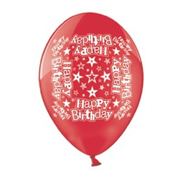Simon Elvin 10 Inch Latex Balloon - Happy Birthday