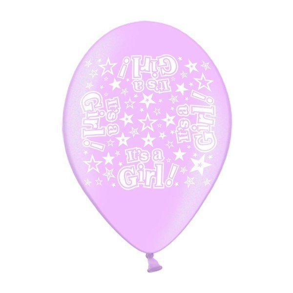 Simon Elvin 10 Inch Latex Balloon - Its a Girl