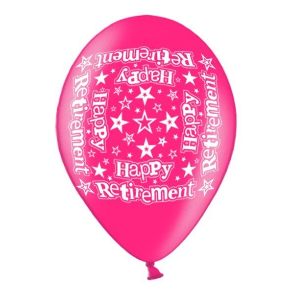 Simon Elvin 10 Inch Latex Balloon - Retirement