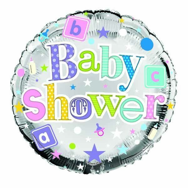 Simon Elvin 18 Inch Foil Balloon - Baby Shower
