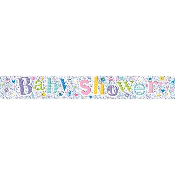 Simon Elvin Foil Banner - Baby Shower