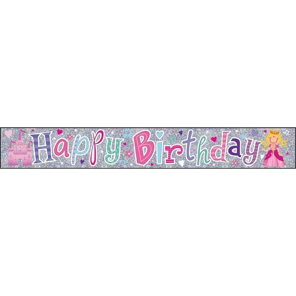 Simon Elvin Foil Banner - Birthday Girl