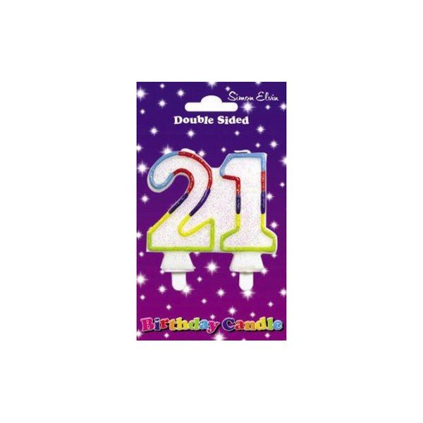 Simon Elvin Number Candle - 21