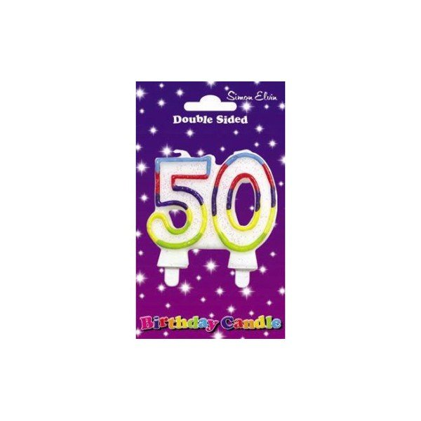 Simon Elvin Number Candle - 50