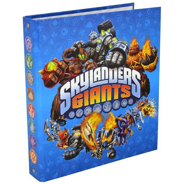 Skylanders A5 Cardboard Ring Binder - 4 Rings