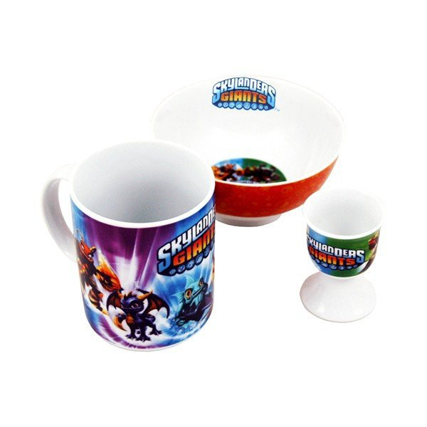 Skylanders Giants 3PC Breakfast Set