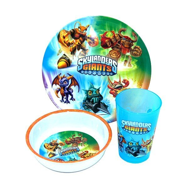 Skylanders Giants 3PC Dinner Set
