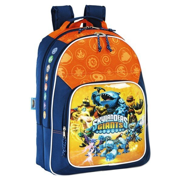 Skylanders Giants Orange Backpack - 32Cms