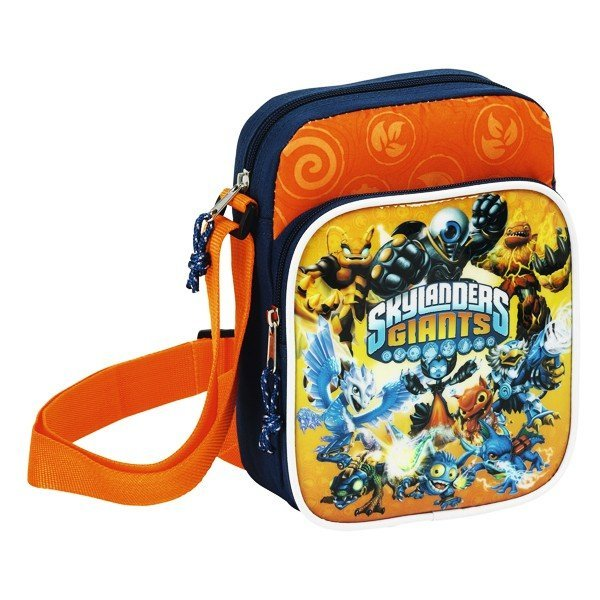 Skylanders Orange Mini Shoulder Bag - 16Cms
