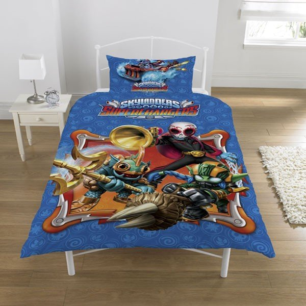 Skylanders Supercharged Glow In The Dark Single Duvet