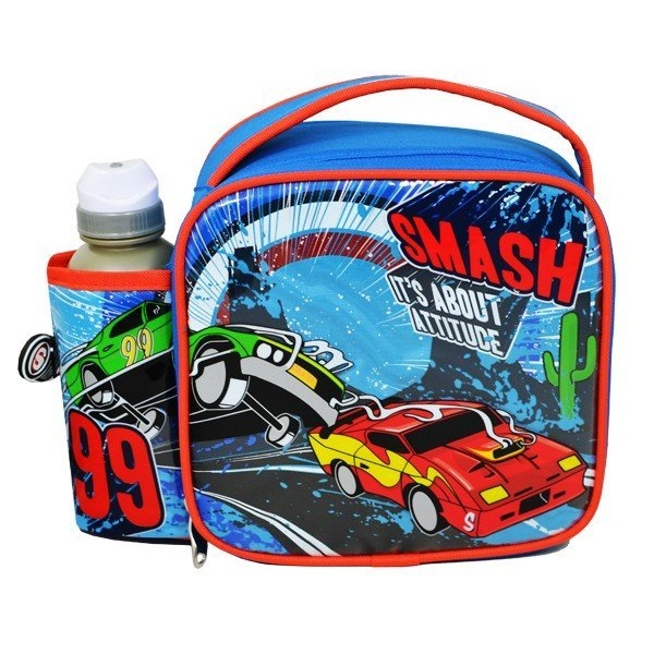 Smash Exhaust Junior Lunch Bag And Bottle Set