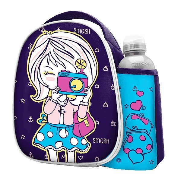 Smash Paparazzi Lunch Bag And Bottle Set
