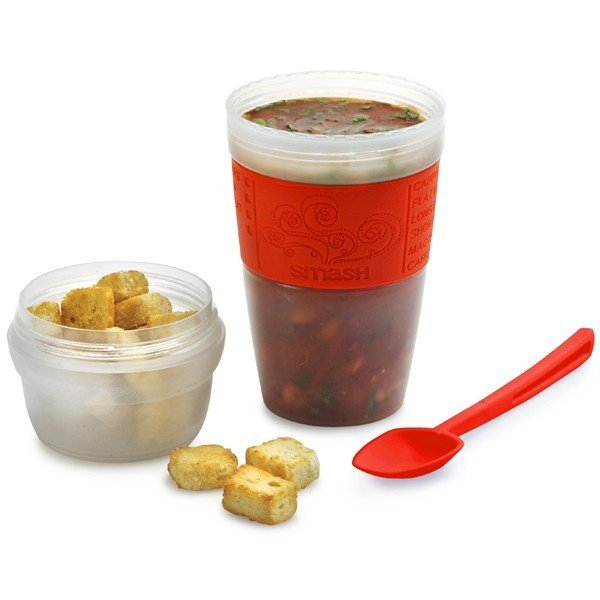 Smash Portable Soup Cup and Spoon Set