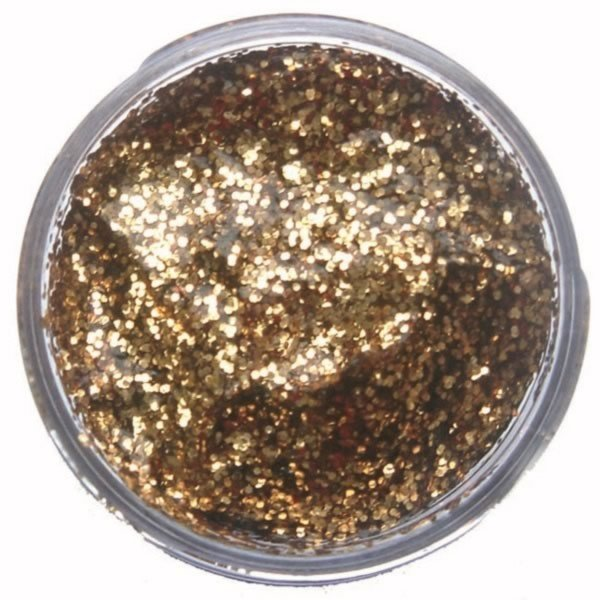 Snazaroo 12ml Glitter Gel - Red Gold