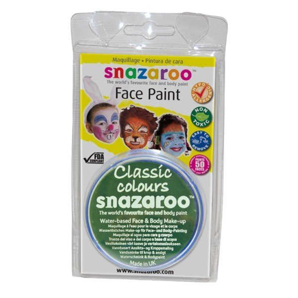 Snazaroo 18ml Face Paint - Grass Green