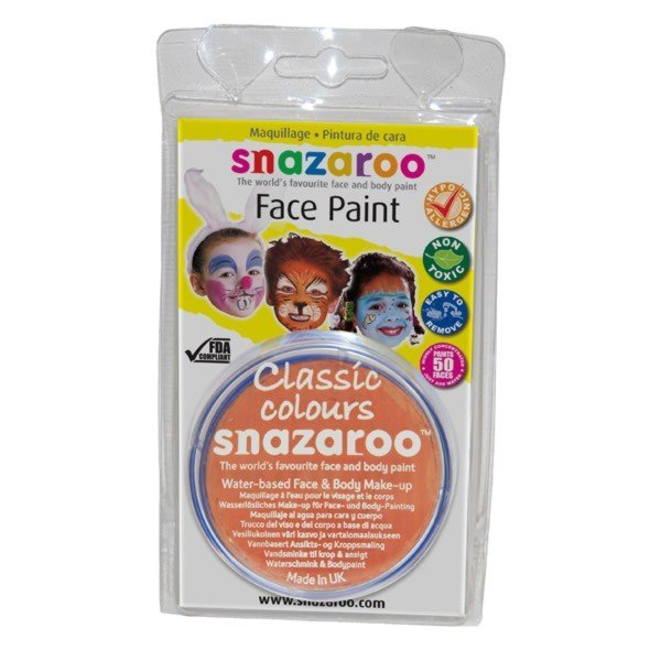 Snazaroo 18ml Face Paint - Orange