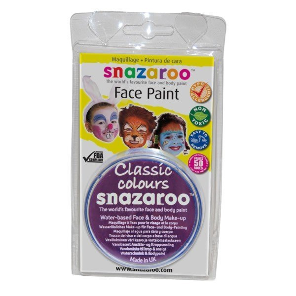 Snazaroo 18ml Face Paint - Purple