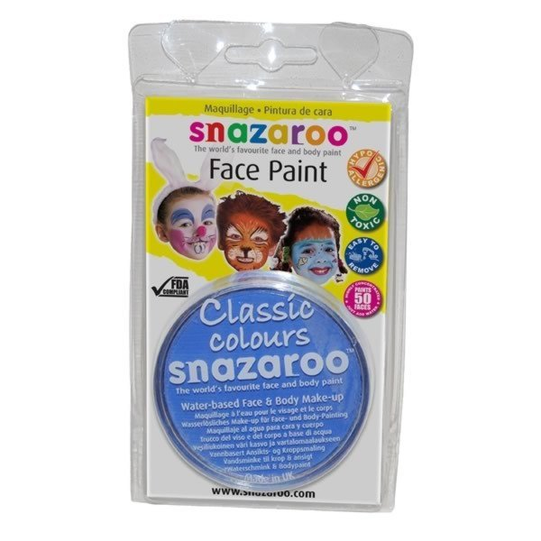 Snazaroo 18ml Face Paint - Sky Blue