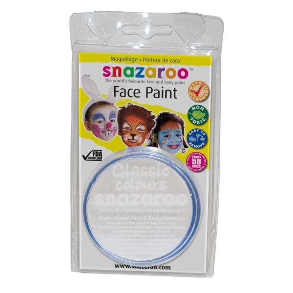 Snazaroo 18ml Face Paint - White