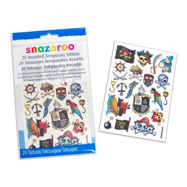 Snazaroo Assorted Temporary Tattoos - Boy