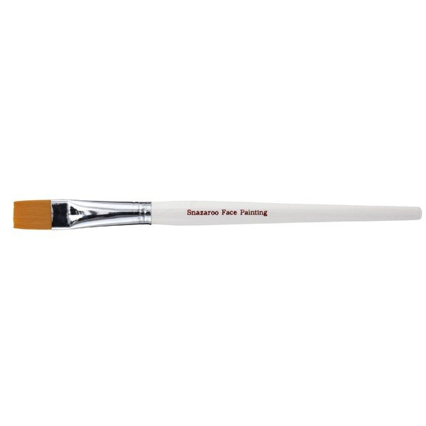 Snazaroo White Large Flat Brush