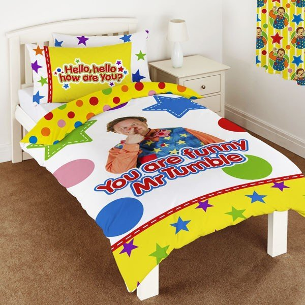 Something Special Single Duvet - Mr Tumble