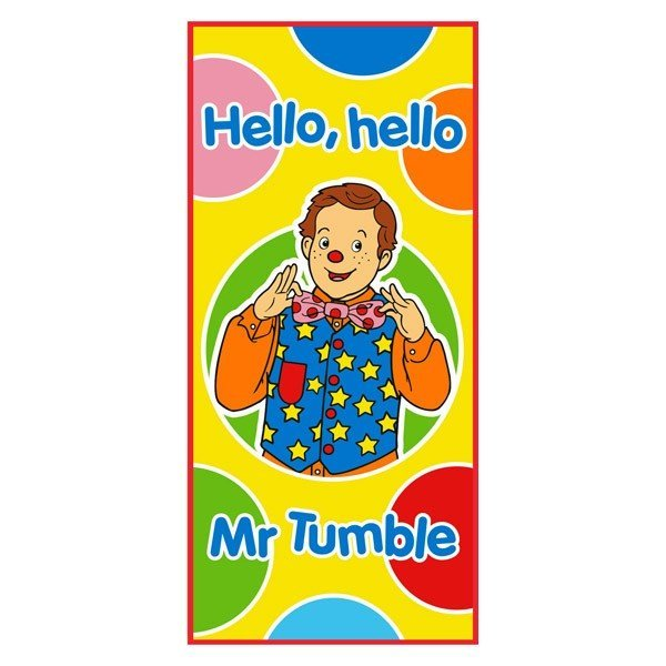 Something Special Towel - Mr Tumble