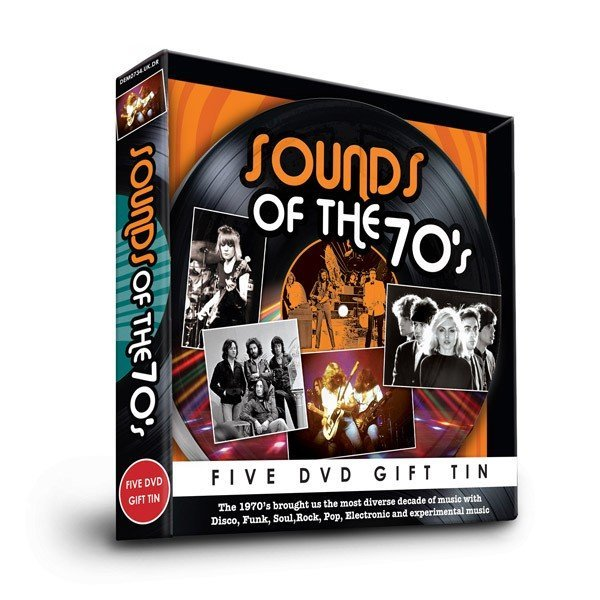Sounds of 70s Five DVD Gift Tin