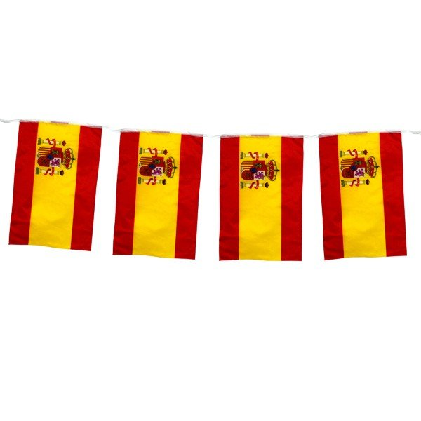 Spain 5M Bunting Flag (12pc)