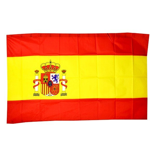 Spain Flag (With Crest)