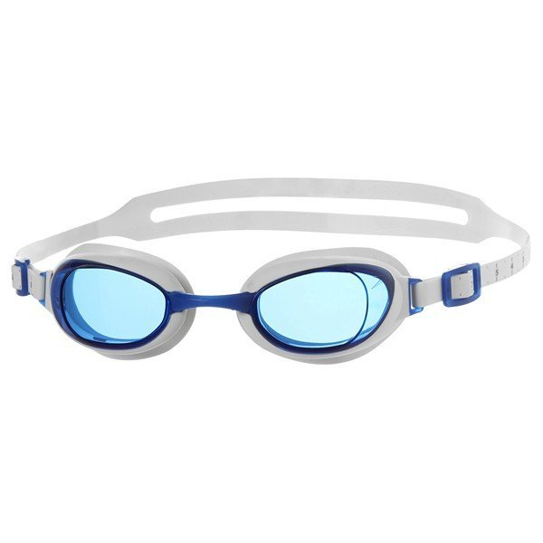 Speedo Adult Aqaupure Goggle - White/Blue