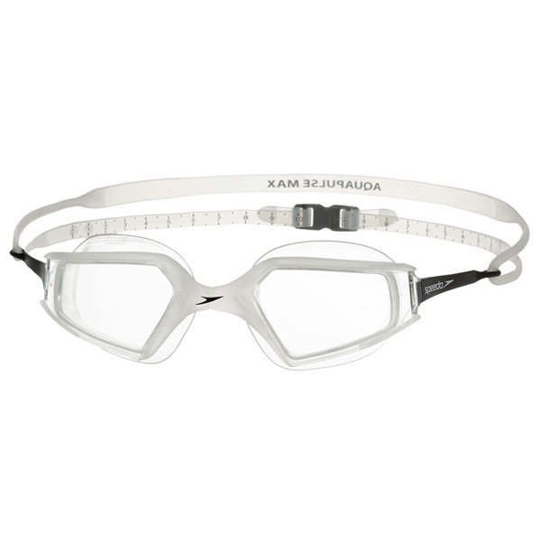 Speedo Adult Aquapulse Max Goggle - Clear/Clear
