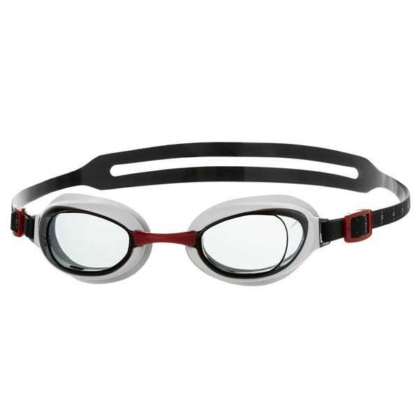Speedo Adult Aquapure Goggle - Red/Smoke