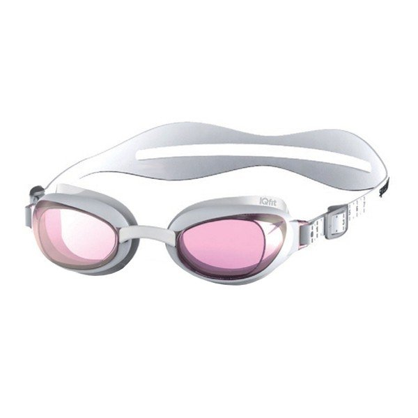 Speedo Adult Aquapure Mirror Goggle - White/Pink Female