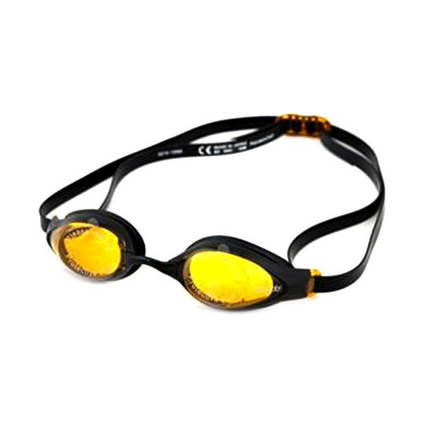 Speedo Adult Aquasocket Goggle - Black/Gold