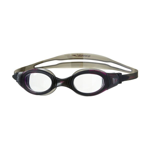 Speedo Adult Futura Biofuse Goggle - Clear/Black Female
