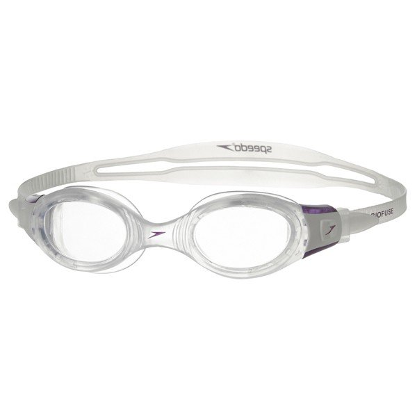 Speedo Adult Futura Biofuse Goggle - Clear/Purple Female