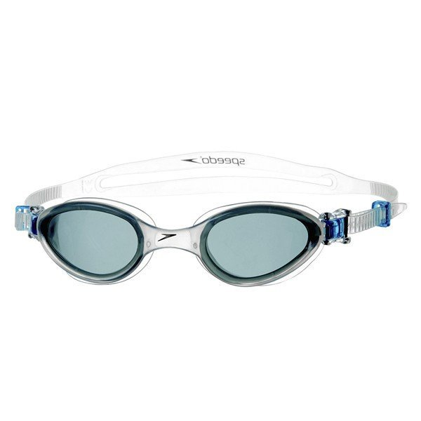 Speedo Junior Futura One Goggle - Grey/Clear