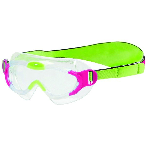Speedo Junior Sea Sqaud Mark Goggle - Pink/Grean