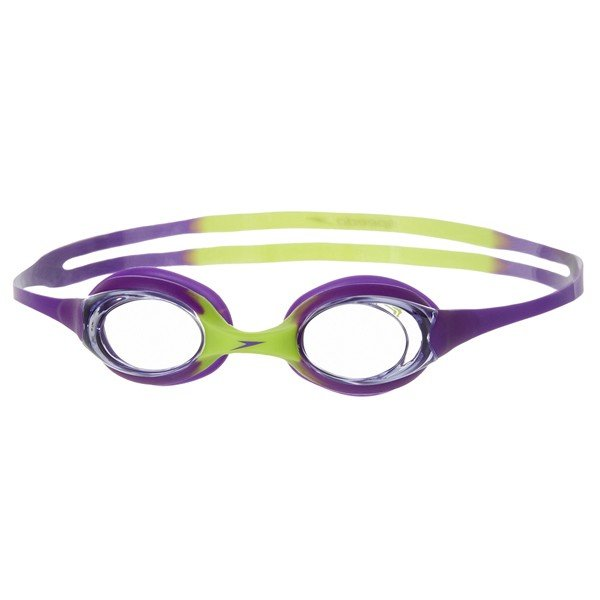 Speedo Junior Sea Sqaud Skoogle Flexifit Goggle - Grean/Purple