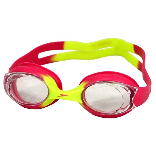 Speedo Junior Sea Sqaud Skoogle Flexifit Goggle - Pink/Grean