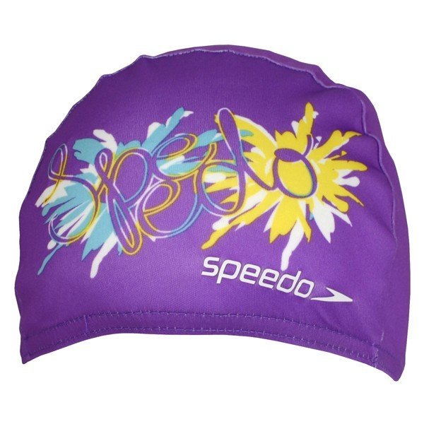 Speedo Polyester Printed Cap - Junior