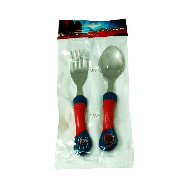 Spiderman 2PC Cutlery Set