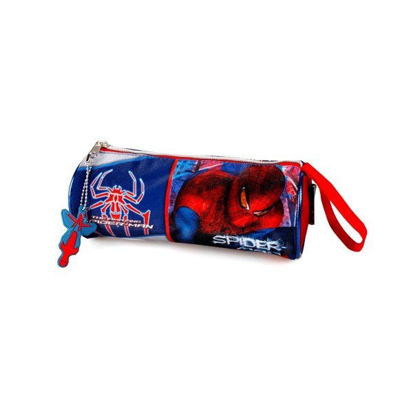 Spiderman Barrel Pencil Case
