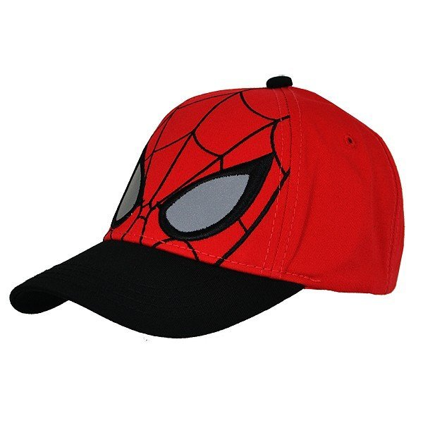 Spiderman Face Cap Red - Junior