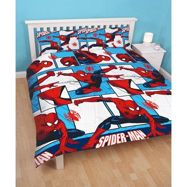Spiderman Parker Reversible Double Duvet